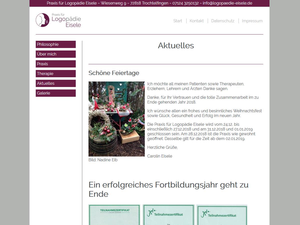 Praxis Für Logopädie Eisele Dalley It